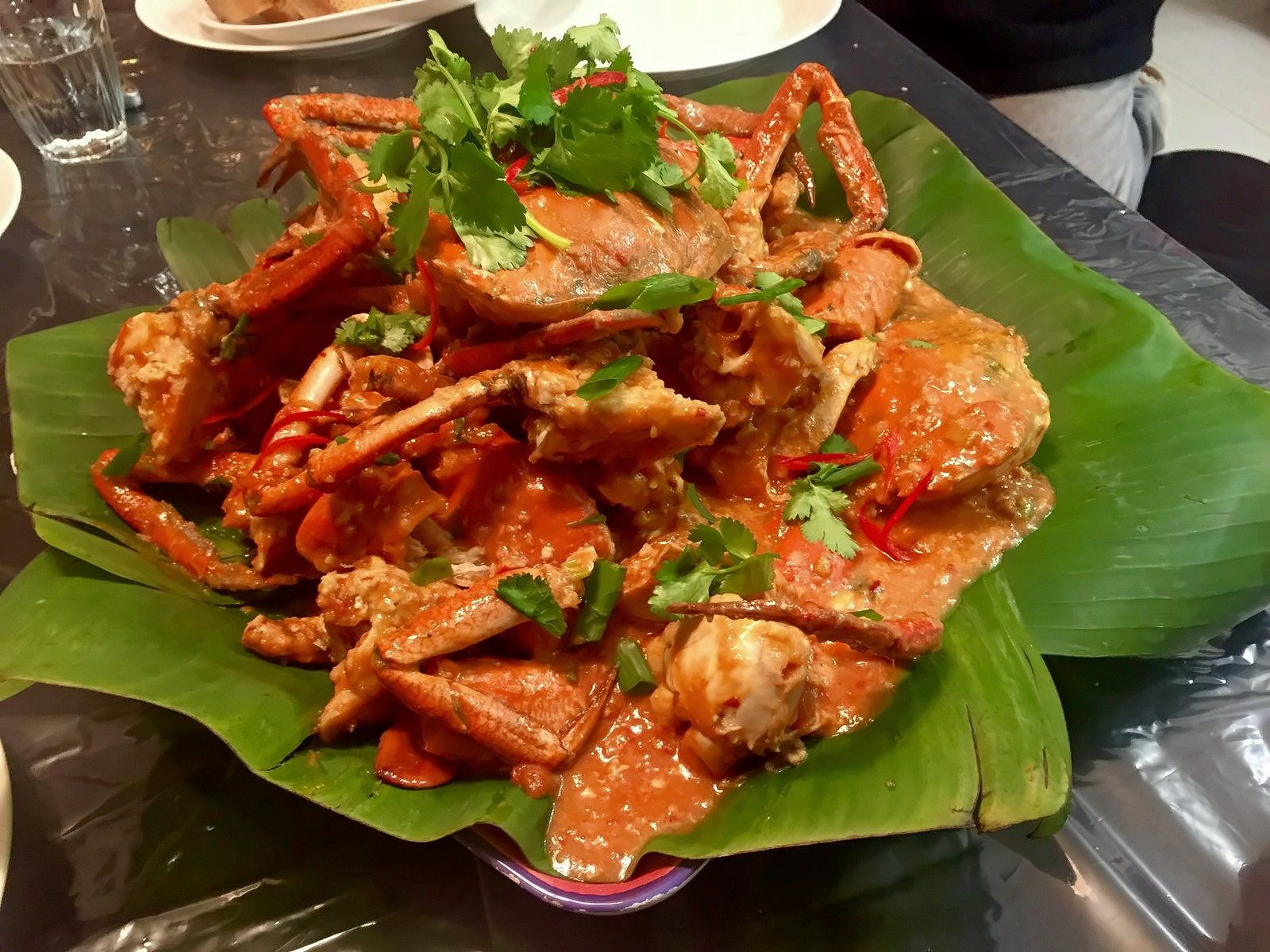 Singapore Chilli Mud Crab by Trent Moreland