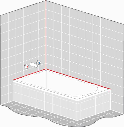 Epoxy Grout For Bathrooms: Bath-Perimeter-Seal