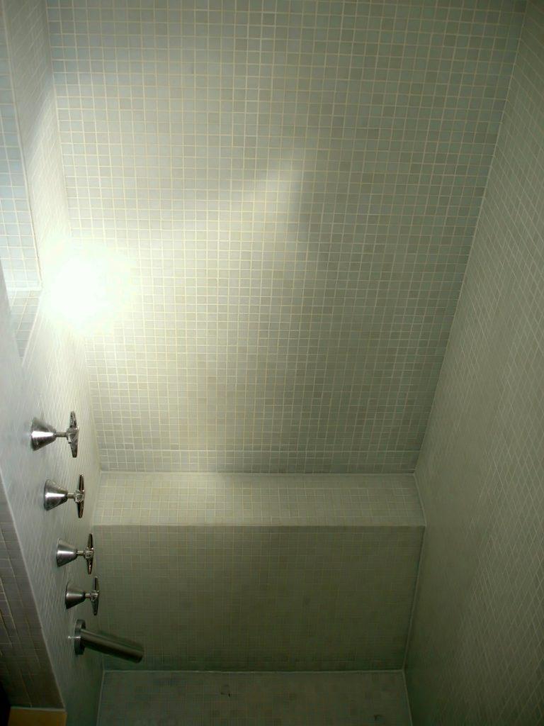 EPG Mosaic tile shower regrout 4/4