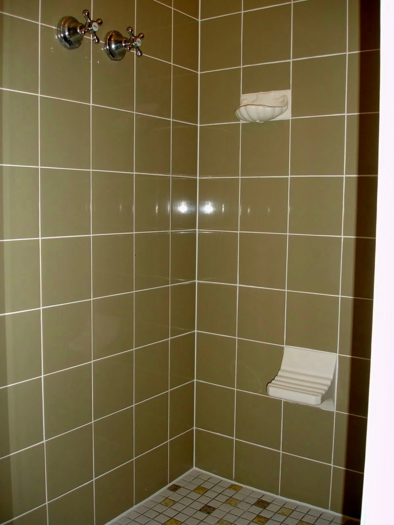 Full shower rejuvenation to older style shower, making Old, New Again!